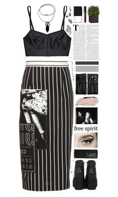 """""""Set 872 ft. NOVICA Unique Onyx and Sterling Silver Pendant Necklace"""" by yen-and-len ❤ liked on Polyvore featuring Miu Miu, NARS Cosmetics, Jean Yu, Bobbi Brown Cosmetics, Ivano Redaelli, Crate and Barrel, LORAC and NOVICA"""