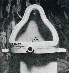 Fountain, Marcel Duchamp, Dada, Ready made. Photographed by Alfred Stieglitz Alfred Stieglitz, Kurt Schwitters, Yves Tanguy, Tristan Tzara, Postmodern Art, Georges Pompidou, Art Nouveau, Art Deco, Art History