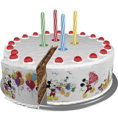 Opaska dekoracyjna na tort urodzinowy nawiązująca do disneyowskich bohaterów