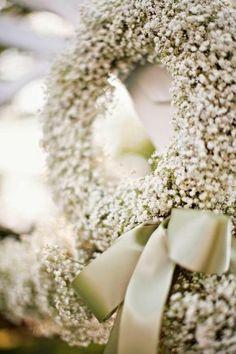 wedding spirit blog mariage petites fleurs de mariage gypsophile blanche  mai juin juillet aout septembre idée