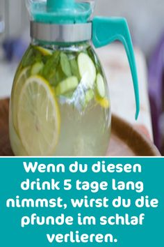 Wenn du diesen drink 5 tage lang nimmst, wirst du die pfunde im schlaf verlieren… If you take this drink for 5 days, you will lose the pounds in your sleep. Loose Weight, How To Lose Weight Fast, Healthy Cooking, Get Healthy, Healthy Recipes, Health And Wellness, Health Fitness, Natural Remedies For Heartburn, South Beach Diet