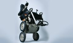 iBot Stair-Climbing Wheelchair - Designed to navigate any terrain with self-balancing technology.