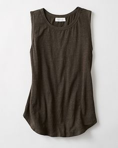 Molinda Linen Knit Tank (end of outfit)