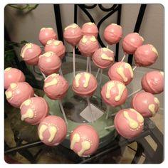 It's a girl cake pops