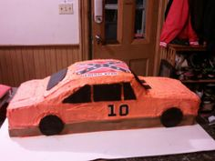 General Lee cake for my son Ryan