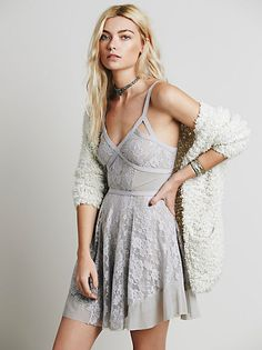 Intimately Circle of Flowers Slip at Free People Clothing Boutique