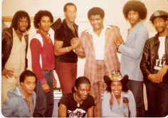 The funk band SLAVE.