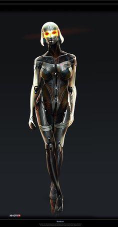 Stunning Mass Effect Portraits