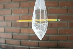 Baggie and Pencil Science Experiment for Kids