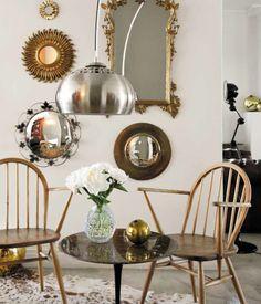 Mirror collection via Elle Decoration