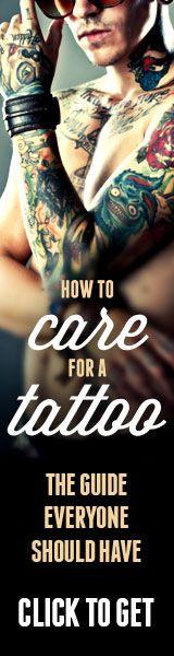 new tattoo care. Great tutorial