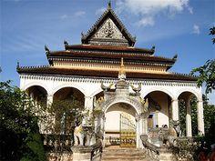 Temple Wat Bo à Siem Reap