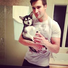 Is James Maslow Cuter Than His Dog Fox? 8 Reasons We Couldn't ...