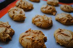 Two Ingredient Pumpkin Spice Cookies - SO easy and delicious!