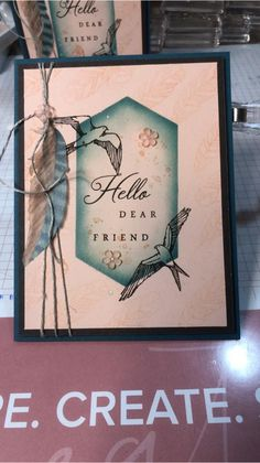May 2019 paper pumpkin alternative Pumpkin Cards, Paper Pumpkin, Handmade Birthday Cards, Greeting Cards Handmade, Stampin Up Catalog, Scrapbook Cards, Scrapbooking, Card Maker, Stamping Up