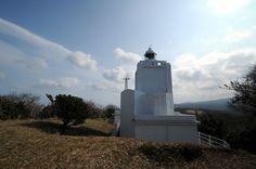 伊豆大島灯台 島の北端にある