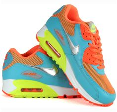 Colourful Nike Air Max for kids and teenagers