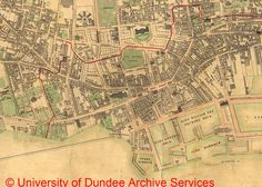 18 fascinating Dundee map images | Dundee map, Blue prints, Cards