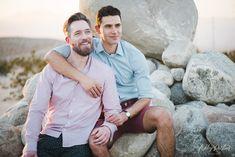 Palm Springs Engagement   Matt + Michael Gay Proposal, Proposal Photos, Engagement Couple, Engagement Shoots, Engagement Ideas, Man 2 Man, Cute Gay Couples, Man In Love, Beautiful Sunset