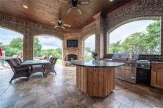 Matrix Dallas Real Estate, Real Estate News, Kitchen Island, Patio, Outdoor Decor, Home Decor, Island Kitchen, Decoration Home, Room Decor