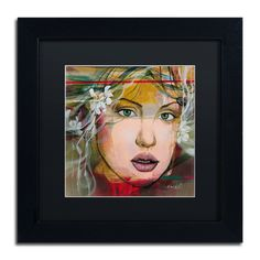 Esmeralda by Andrea Matted Framed Painting Print