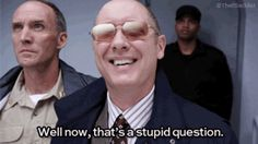 When someone asks you if they can use your Netflix password. | 21 Red Reddington GIFs That Are Your Life