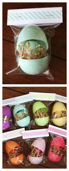 A rainbow of nail polish - fun Easter gift