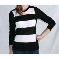 Mega Striped Sweater by Kensie