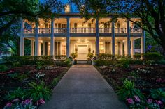 This Highland Park home with six bedrooms, six bathrooms and two half baths is on the market for $3.795 million. Designed in a Neoclassical style, the home has wraparound porches, an elevator, 20 two-story columns, and handcarved millwork. Built in 1987, it includes a theater, sport court and five fireplaces. The listing agent is Christine McKenny, of Dave Perry-Miller & Associates.