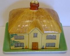 Small but highly dedicated company selling ceramics from UK manufactrers. Specialists in Carlton Ware both modern and early examples. Butter Cheese, Butter Dish, Vintage Dishes, Vintage Kitchen, Kitchen Dishes, Kitchen Items, Cheese Dome, Carlton Ware, Cheese Dishes