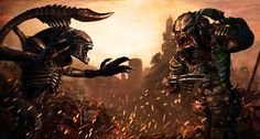 Alien vs. Predator concept art
