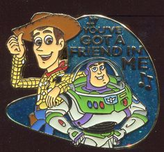 #8 Magical Musical Moments You've Got a Friend in Me Disney Pin 15356