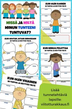 Missä ja miltä minun tunteeni tuntuvat? - Viitottu Rakkaus Leader In Me, Occupational Therapy, Kids And Parenting, Diy For Kids, Good To Know, Diy And Crafts, Projects To Try, Language, Mindfulness
