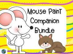 These activities are designed to be used after reading the book Mouse Paint by Ellen Stoll Walsh  Included: *24 Full color picture cards of characters and items from the book *24 blackline picture cards in a slightly smaller size *10 page easy reader based on the book *8 comprehension clip cards with pictures to choose from. *6 writing sheets with pre-printed writing prompts. A blank writing sheet is also included