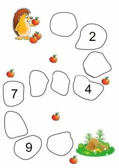 Preschool Colors, Preschool Writing, Numbers Preschool, Preschool Learning Activities, Preschool Printables, Kindergarten Math Worksheets, Math For Kids, Kids Education, Wall Photos
