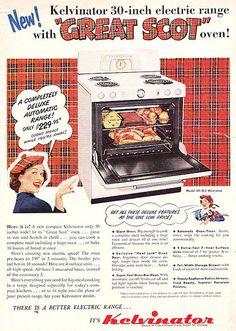 Home Appliances Installation Key: 1337199019 Retro Advertising, Retro Ads, Vintage Advertisements, Antique Kitchen Stoves, Vintage Kitchen Appliances, Retro Kitchens, Stoves For Sale, Vintage Stoves, Retro Housewife