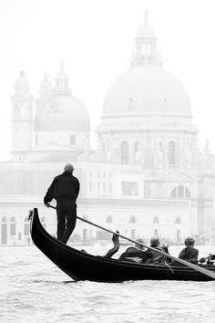 Foggy Venice.