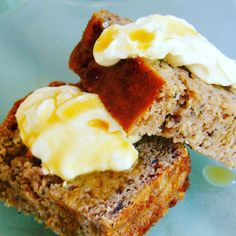 Coconut, banana, feijoa and ginger loaf Author: Vanessa Recipe type: Treats Cuisine: Baking Save Print Mother's Day is on the way and here is a deliciously easy and scrummy wa… Fejoa Recipes, Gluten Free Recipes, Guava Recipes, Kiwi Recipes, Sweet Recipes, Feijoada Recipe, Ginger Loaf, Ginger Syrup, Pineapple Guava