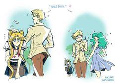 """soaps: """" Haruka + Michiru = easily in the Top 10 of my fav fictional"""