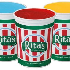 rita's ice unlimited topping sundae's - Google Search
