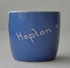 Egg Cup  Souvenir of Hopton on Sea by AuntMartha on Etsy, $8.00
