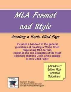 handbook infotrac mla paper research revised writing