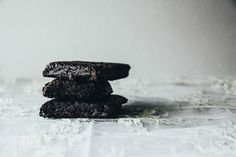 Lace & Lilacs » Alice Medrich's Cocoa Brownies >> Butter, Sugar, Unsweetened Cocoa Powder, Salt, Vanilla, Eggs, Flour, Nuts