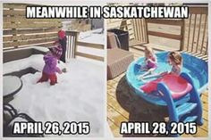 Saskatchewan in April 2015 Meanwhile In Canada, I Am Canadian, Erin Krakow, Canada Eh, Best Funny Pictures, Funny Pics, Funny Stuff, Hilarious, Twisted Humor
