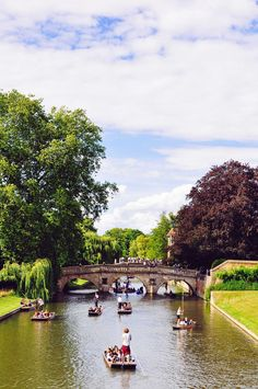 River Cam | Trinity College, Cambridge, UK