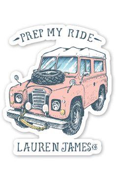 Prep My Ride Sticker
