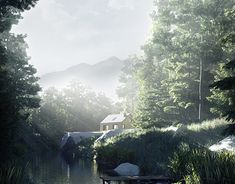 """Check out new work on my @Behance portfolio: """"shelter in the forest"""" http://be.net/gallery/63986983/shelter-in-the-forest"""
