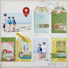 Life is good Marie-Nicolas ALLIOT by Maniscrap, via Flickr