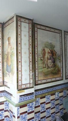 Old Dairy: Minton Tiles