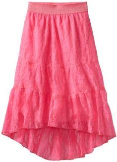 Amazon.com: My Michelle Girls 7-16 Three Layer Skirt: Clothing